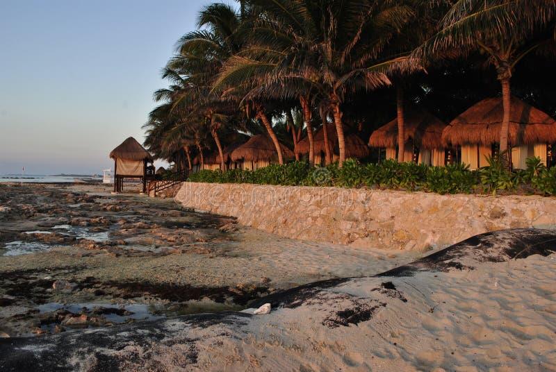 EL Dorado Casitas Royale dans Cancun, Mexique photographie stock