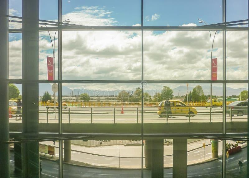El Dorado Lotniskowy Bogota Kolumbia obraz stock