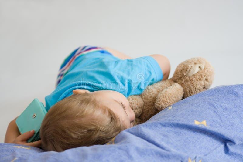 El dormir fotografía de archivo