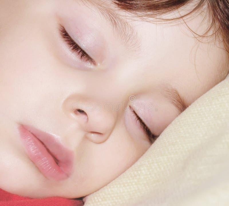 El dormir del ángel fotografía de archivo libre de regalías