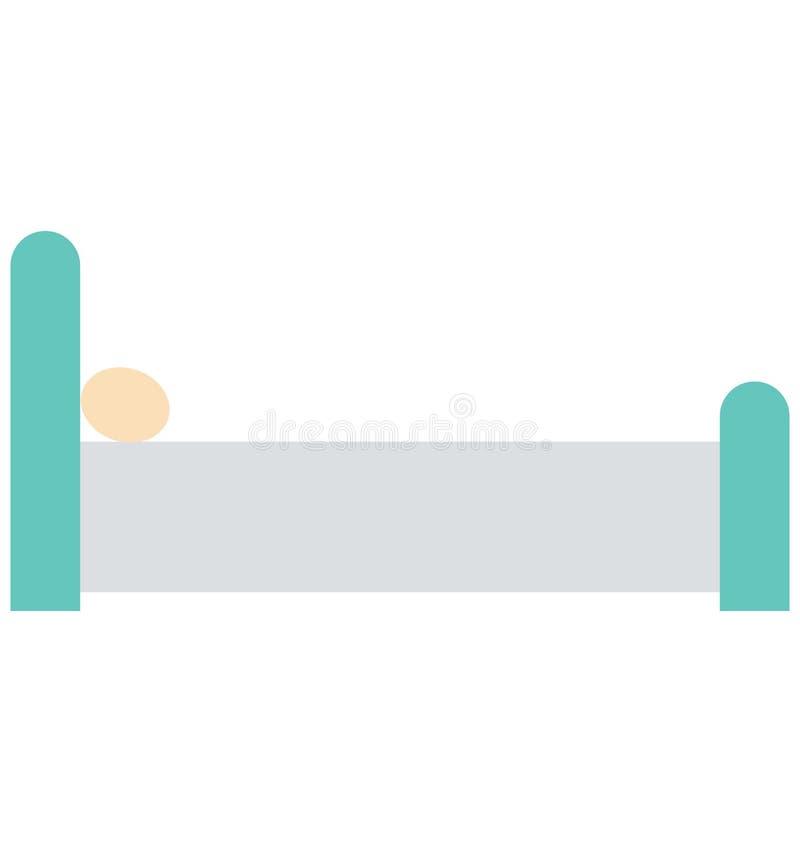 El dormitorio aisló el icono del vector que puede estar fácilmente corrige o se modificó libre illustration