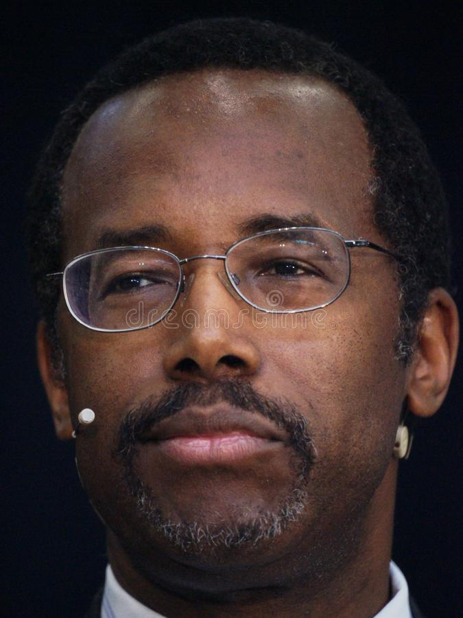 El Dr. Ben Carson foto de archivo libre de regalías