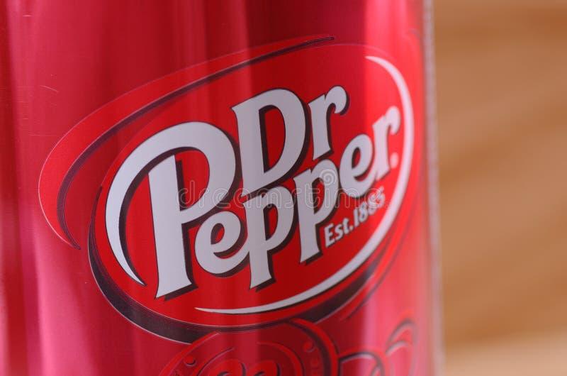 El Dr. Pepper foto de archivo libre de regalías