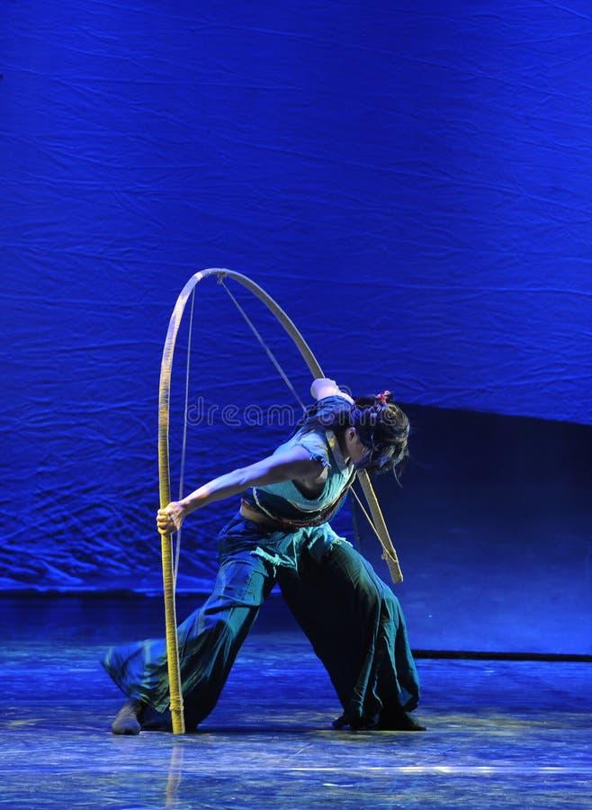 El drama de la danza del solo-The de la pistola la leyenda de los héroes del cóndor imagen de archivo