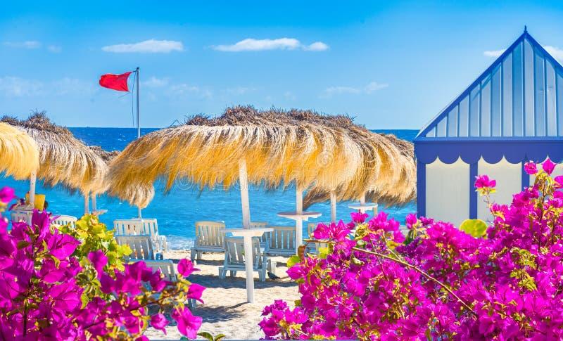 El Duque beach. Tenerife royalty free stock image