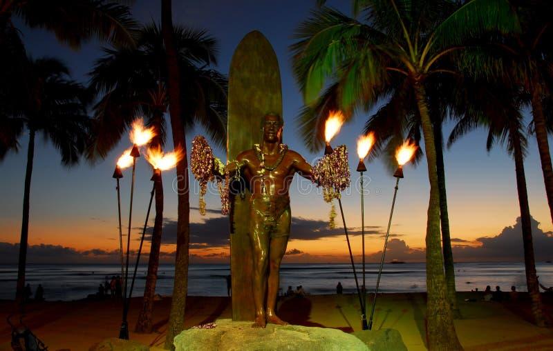 El duque en la puesta del sol   imágenes de archivo libres de regalías