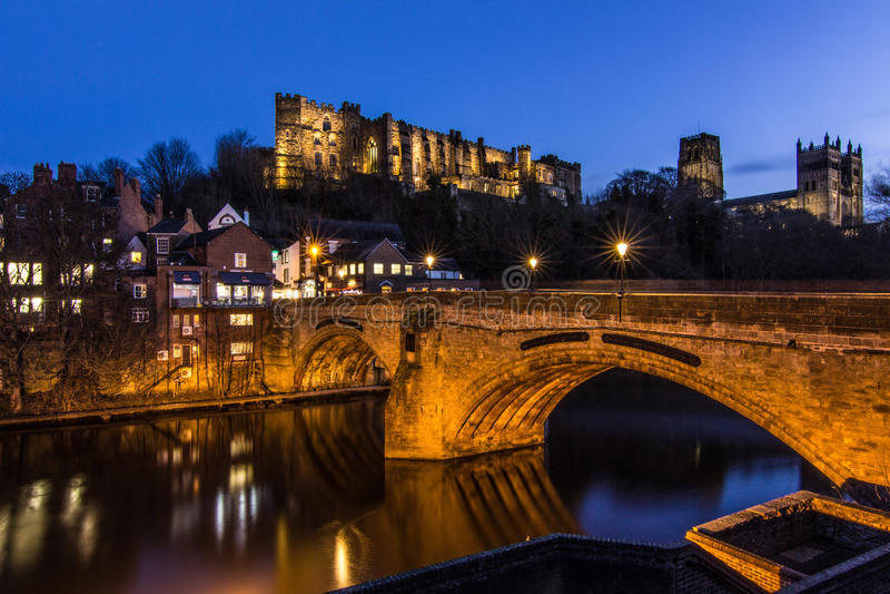 El Durham hermoso en Inglaterra septentrional imagenes de archivo