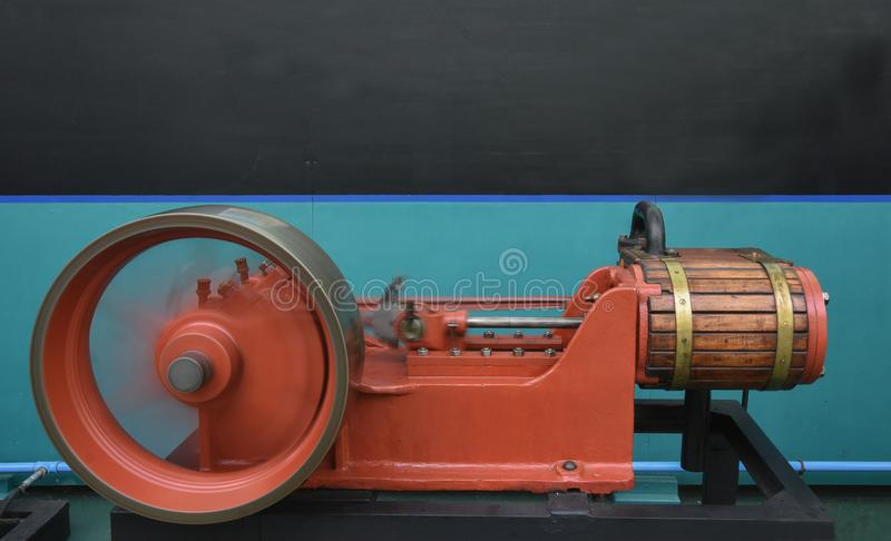 El Easton y Anderson Gantry Engine imagenes de archivo