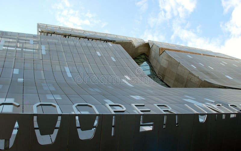 El edificio académico de la nueva unión del fabricante de vinos imágenes de archivo libres de regalías