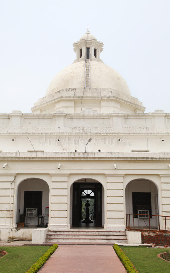 El edificio administrativo de IIT Roorkee fotos de archivo libres de regalías