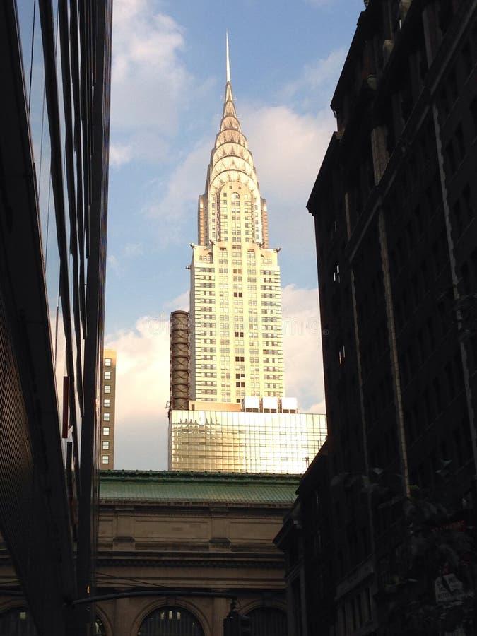 El edificio de Chrysler fotografía de archivo libre de regalías