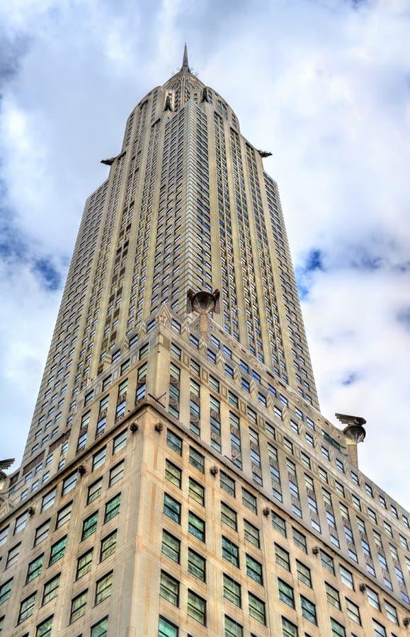El edificio de Chrysler, un rascacielos del Deco-estilo del arte en Manhattan Construido en 1930 imagen de archivo