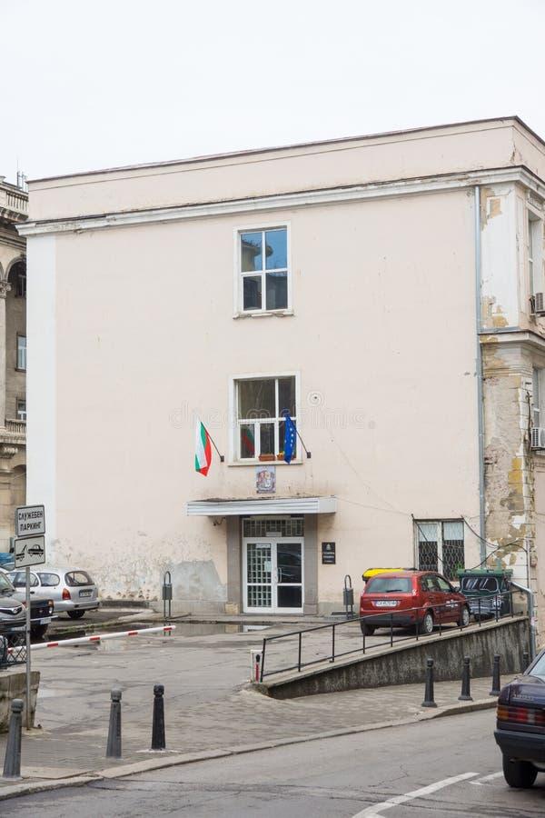 El edificio de la administración de la ciudad en Sofía, Bulgaria foto de archivo libre de regalías