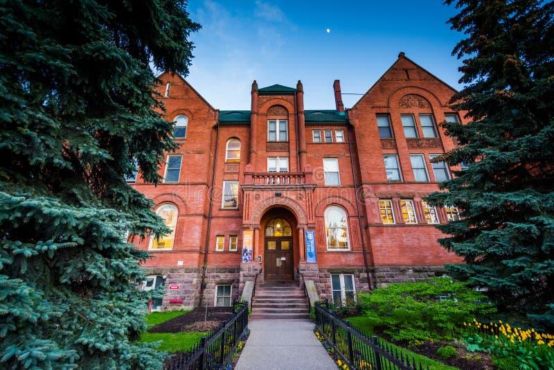El edificio de la universidad de Wycliffe en la universidad de Toronto, en T foto de archivo