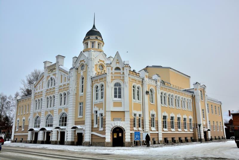 El edificio de ladrillo histórico fotos de archivo