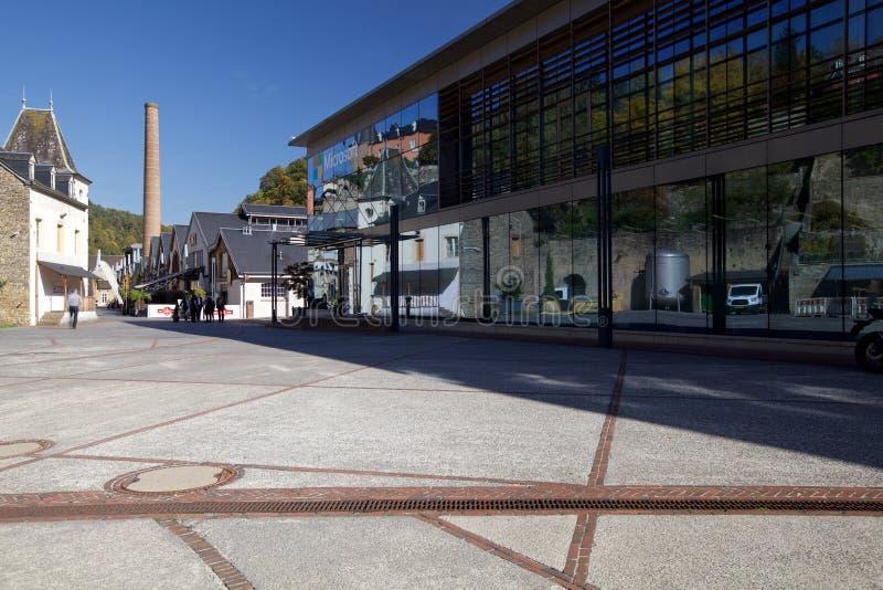 El edificio de Microsoft en Luxemburgo, Europa fotografía de archivo