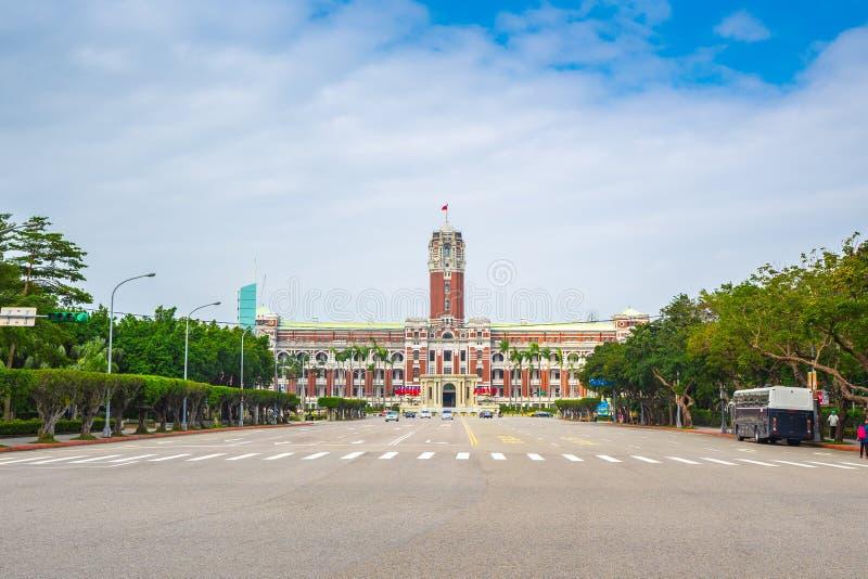 El edificio de oficinas del presidente en Taipei, Taiwán fotos de archivo