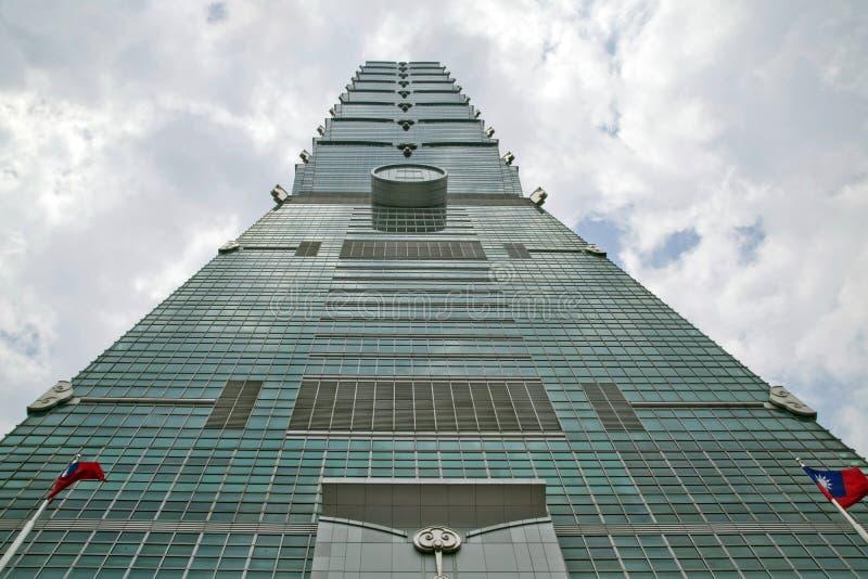 El edificio de Taipei 101. fotografía de archivo libre de regalías