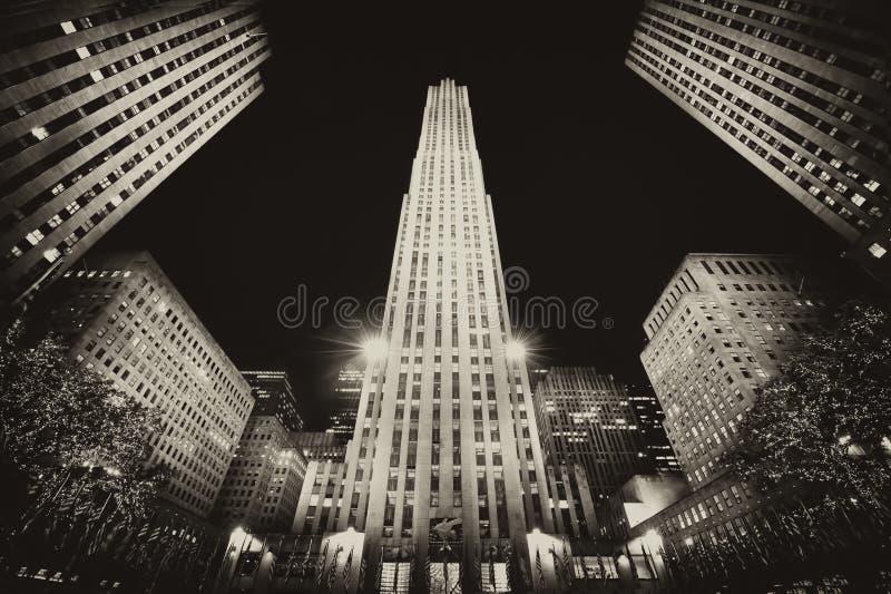 El edificio en Nueva York imágenes de archivo libres de regalías