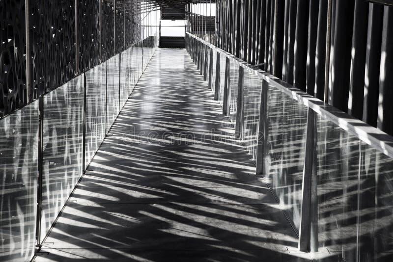 El edificio moderno del museo de Civi europeo y mediterráneo fotografía de archivo libre de regalías