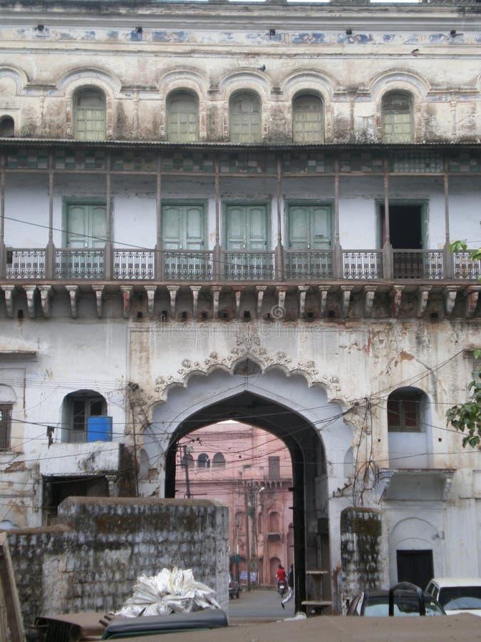 El edificio viejo en Bhopal foto de archivo