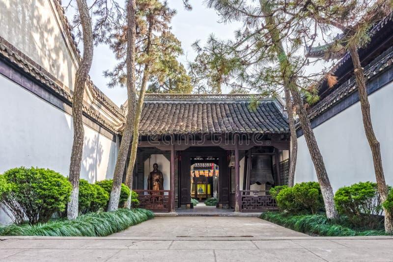 El edificio y la construcción en Daming Temple imagen de archivo libre de regalías