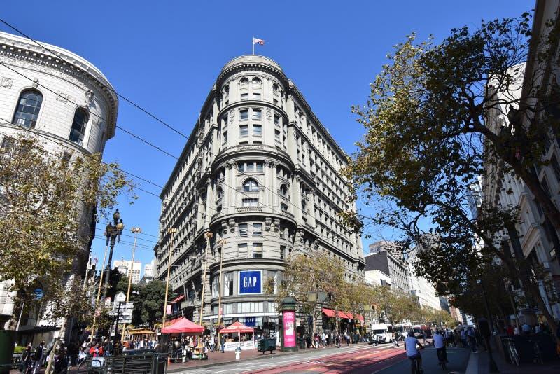 El edificio y el renacido de los mejores edificios del Plano-hierro, 1 de Phelan foto de archivo