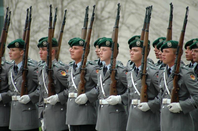 El Ejército alemán imagen de archivo libre de regalías