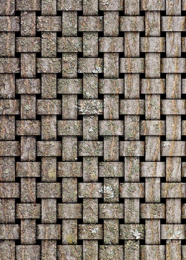 El ejemplo en base de la textura de madera imágenes de archivo libres de regalías