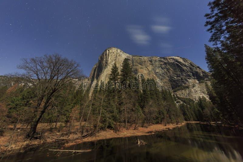 El EL famoso capitan de Yosemite foto de archivo libre de regalías