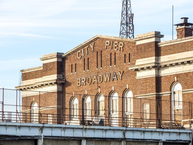 El embarcadero de Baltimore imagen de archivo