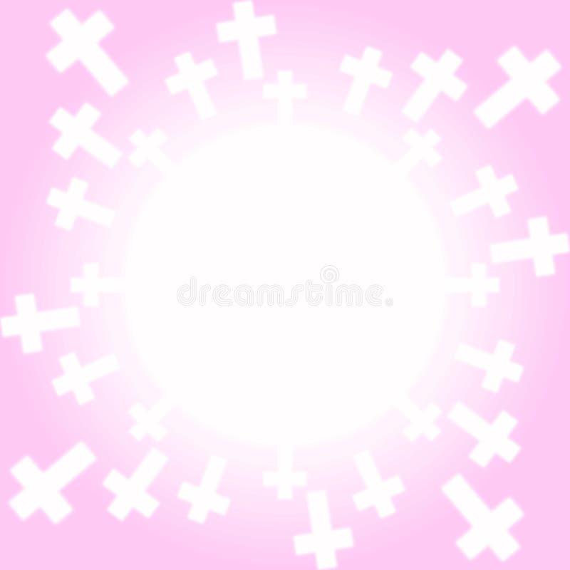 El emerger cruzado de luz libre illustration