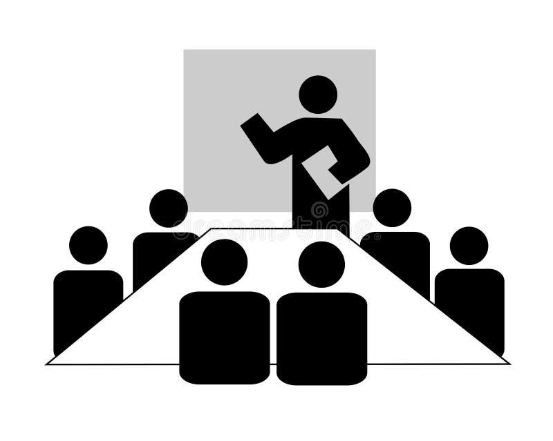 El enseñar del asunto ilustración del vector