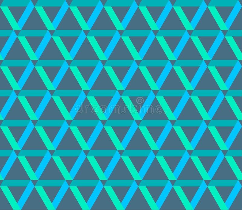 El entrelazamiento inconsútil del vector alinea el modelo textura con estilo moderna stock de ilustración