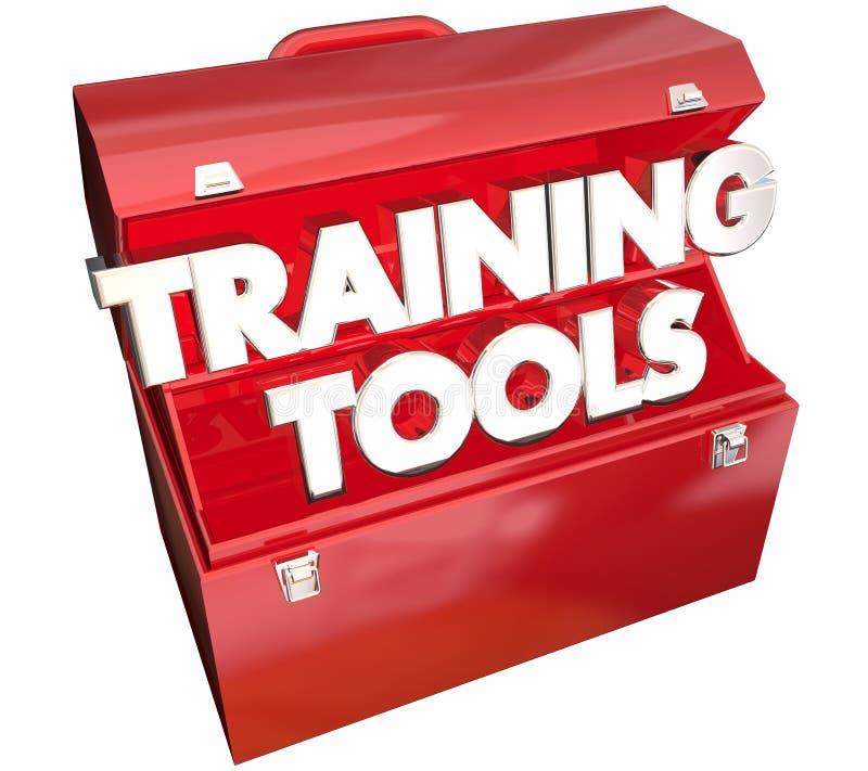 El entrenamiento equipa la caja de herramientas que aprende curso de educación libre illustration