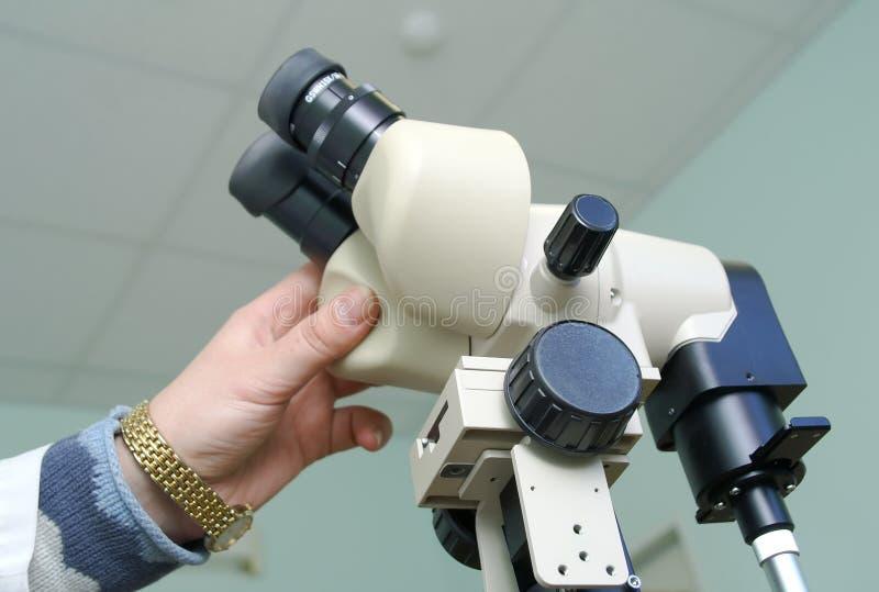 El equipo para el gastroscopy imagen de archivo