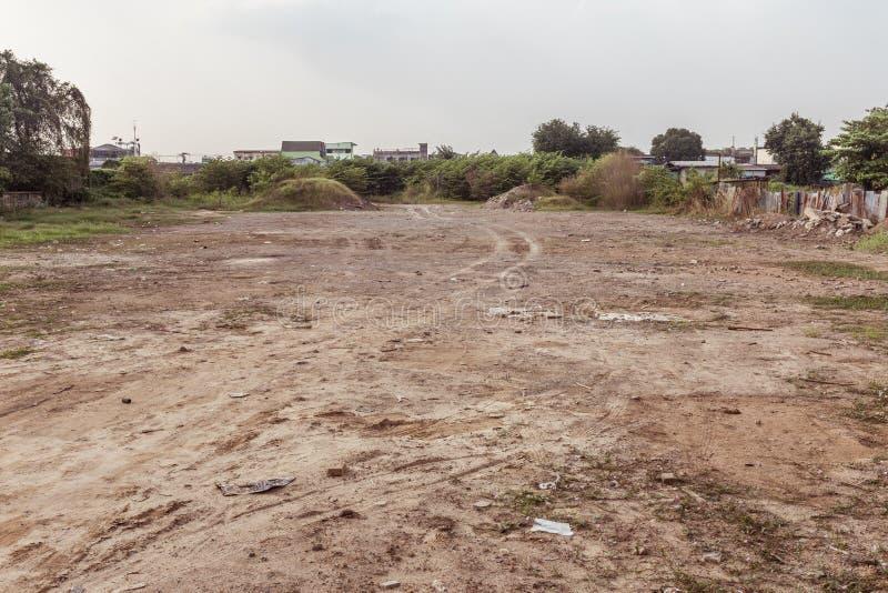 El erial sucio imagen de archivo libre de regalías