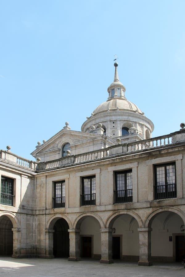 El escorial, madrid, the dome royalty free stock photos