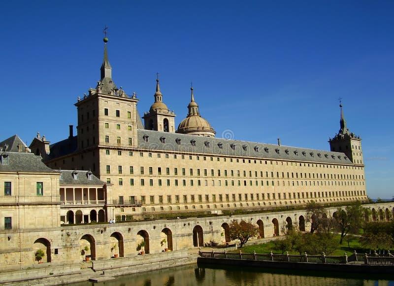 El Escorial Monastery, Madrid, Spain stock images