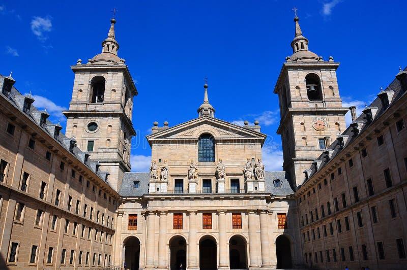 El Escorial Palace, Spain royalty free stock image
