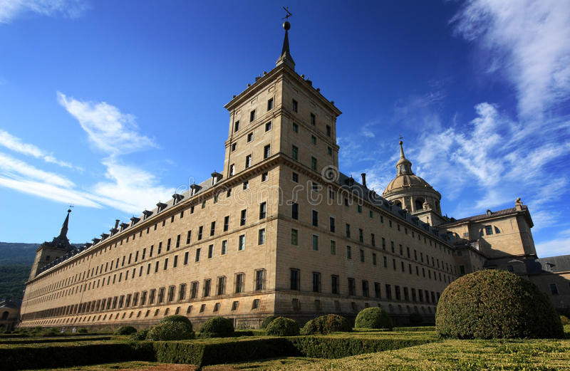 EL Escorial, Spagna immagine stock libera da diritti