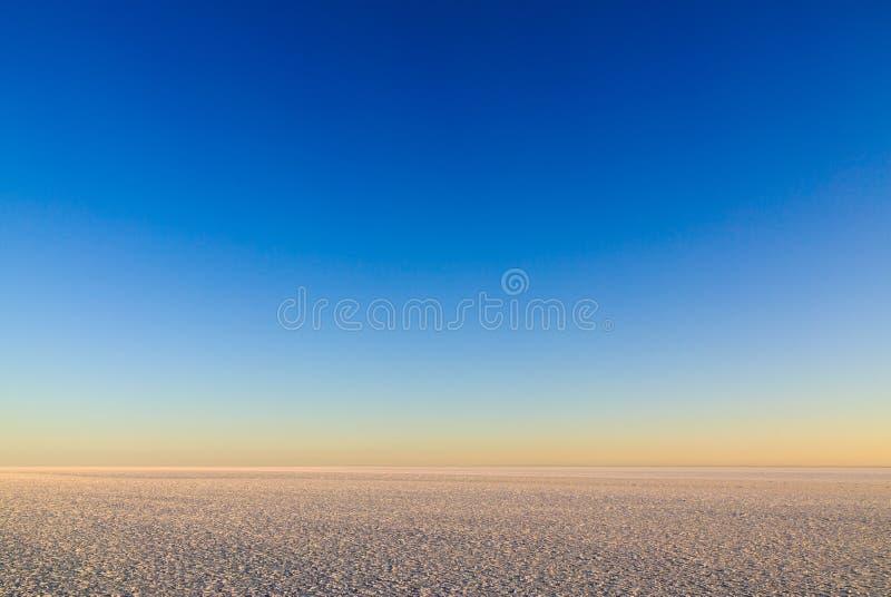 El espacio del cielo y del hielo fotos de archivo libres de regalías