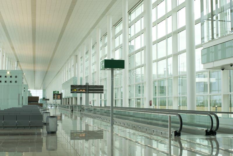 El esperar del aeropuerto fotos de archivo