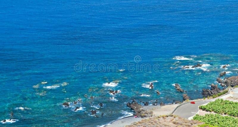 El Estacionar Al Lado Del Mar Fotos de archivo