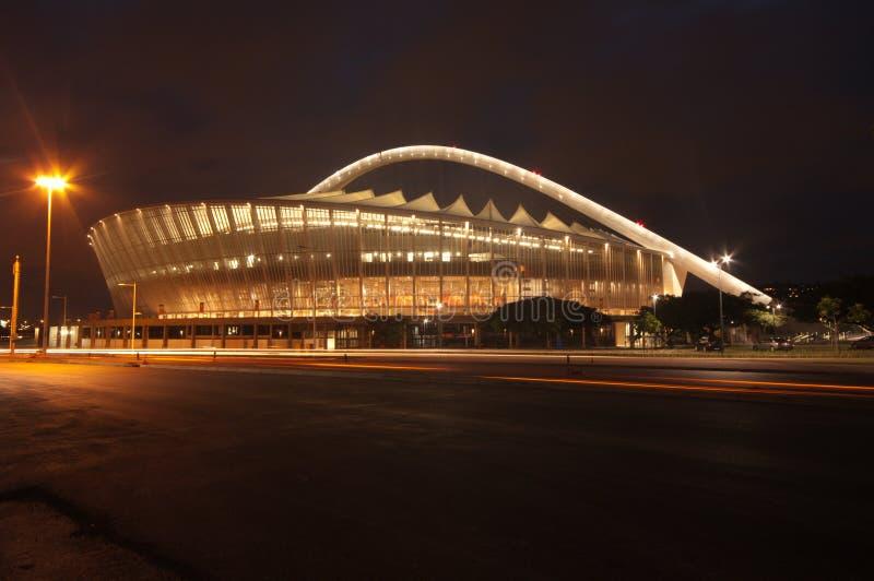 El estadio de fútbol de Durban Moses Mabhida fotografía de archivo libre de regalías