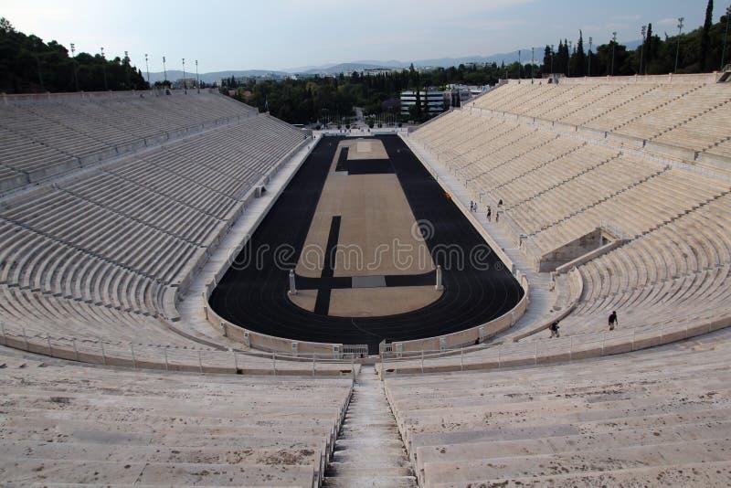 El estadio de Panathenaic, Atenas, Grecia imagen de archivo