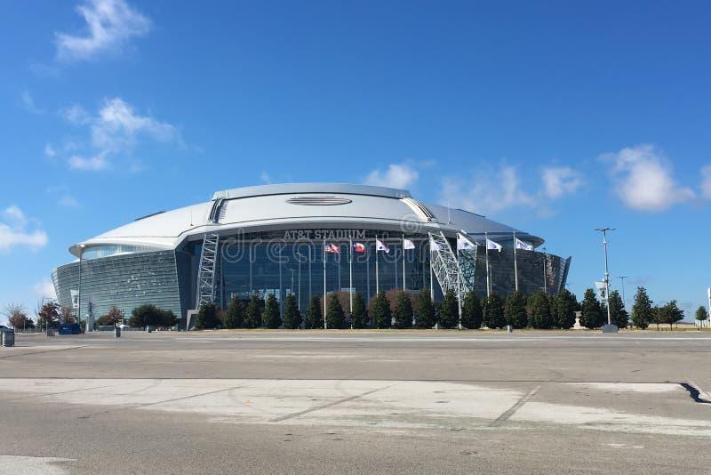 El estadio de AT&T, hogar a Dallas Cowboys fotos de archivo libres de regalías