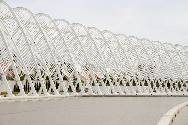 El estadio Olímpico en Atenas, Grecia