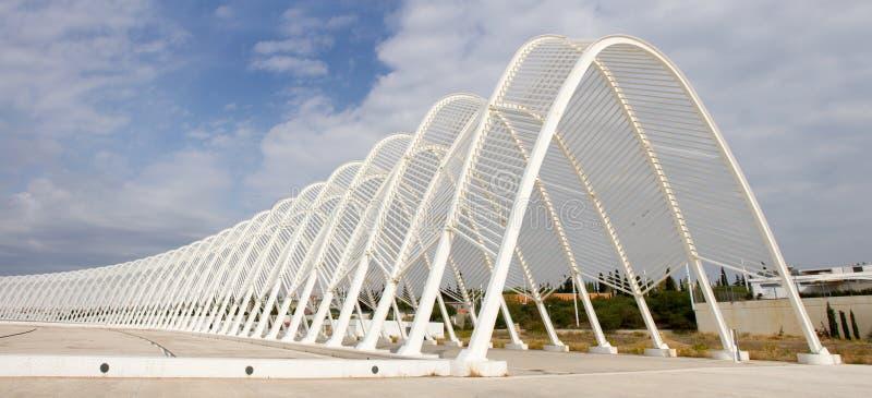 El Estadio Olímpico En Atenas, Grecia Foto editorial