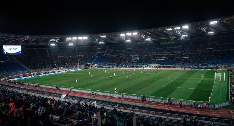 El estadio Olímpico en Roma, Italia foto de archivo libre de regalías